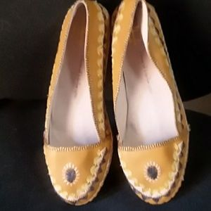 House of Harlow 1960 Espadrill Ballet  Flats